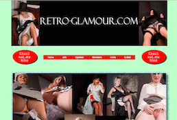 Retro-Glamour the best site for lingerie fetishes