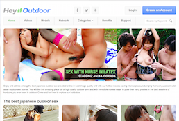 One of the most popular xxx premium site starring stunning outdoor material
