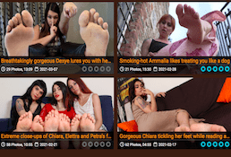 This one is the best premium xxx website proposing hot foot fetish movies